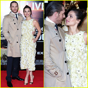 Tom Hardy Supports Girlfriend Charlotte Riley at 'Edge of Tomorrow' London Premiere!