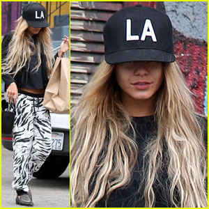 Vanessa Hudgens Attempts to Go Incognito in Los Angeles!