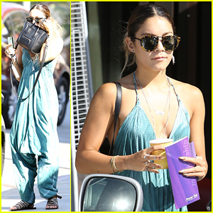 Vanessa Hudgens Treats Herself to a Massage on Memorial Day!