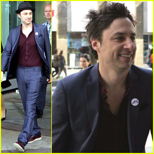 Zach Braff Was a Lifelong Fan of Mandy Patinkin's Before Casting Him in 'Wish I Was Here'!