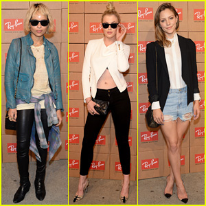 Zoe Kravitz & Ireland Baldwin Get Shady to Help Ray-Ban Debut District 1937!