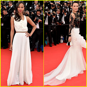 Zoe Saldana & Ziyi Zhang Are the Epitome of Class at Cannes Opening Ceremony!
