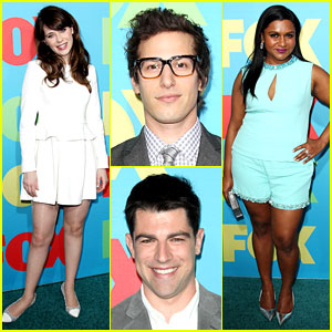 Zooey Deschanel & Mindy Kaling Bring the Funny to Fox Upfront!