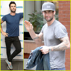 Adam Levine Is Secretive On Origin of Maroon 5's Name!