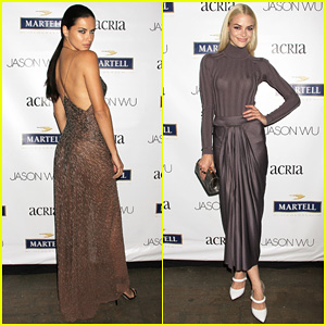 Adriana Lima & Jaime King Represent Jason Wu at Young Friends of ACRIA Summer Soiree 2014