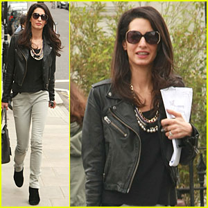 Amal Alamuddin is the Epitome of Urban Chic in London!