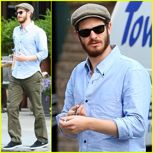 Andrew Garfield Steps Out in NYC Wearing His Favorite Golf Cap
