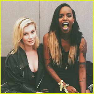 Angel Haze on Dating Girlfriend Ireland Baldwin: 'We F--k. Friends Don't F--k'