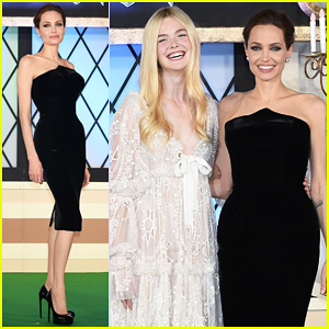 Angelina Jolie & Elle Fanning Hit Japan In Style for