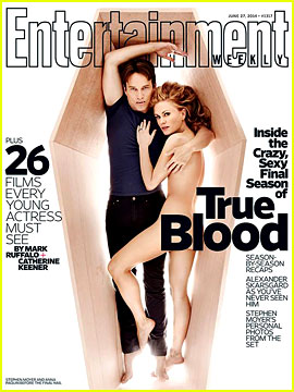 Anna Paquin Goes Nude for EW's Final 'True Blood' Cover!