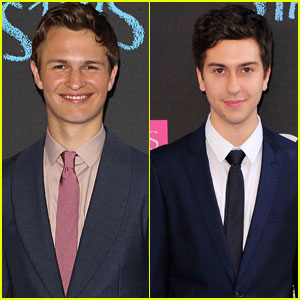 Ansel Elgort & Nat Wolff are Two Dapper Dudes at 'The Fault in Our Stars' NYC Premiere!
