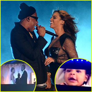 Beyonce & Jay Z Reveal Unseen Wedding Footage, Blue Ivy Moments at 'On the Run' Opening Night! (Videos)