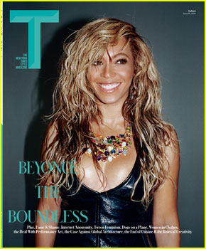Beyonce Lets Loose For 'T' Magazine Cover!