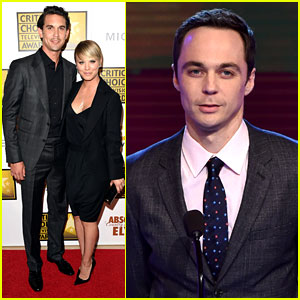'Big Bang Theory' Stars Attend Critics' Choice TV Awards, Jim Parsons Wins!