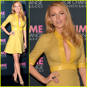 Blake Lively Catches Up with Beyonce at Gucci's Chime for Change Event in NYC!