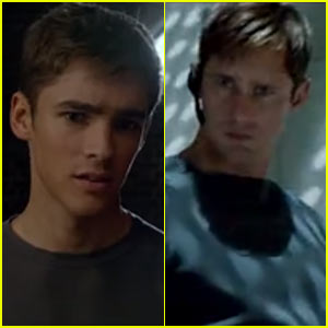 Brenton Thwaites Finds Out the Truth About Alexander Skarsgard in 'Giver' Trailer - Watch Now!