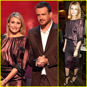 Cameron Diaz & Jason Segel Leave the 'Sex Tape' at Home to Attend Guys' Choice Awards 2014