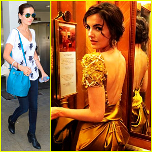 Camilla Belle Heads Home After Her South American Tour