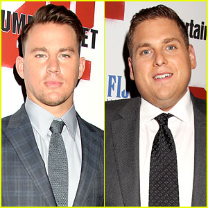 Channing Tatum & Jonah Hill Suit Up for '22 Jump Street' New York Premiere
