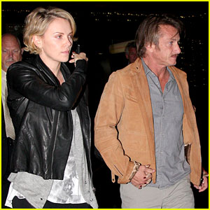 Charlize Theron on Dating Sean Penn: 'Its Nice to Not Be Single'