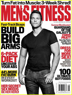 Chris Pratt Looks So Buff on 'Men's Fitness' Cover!