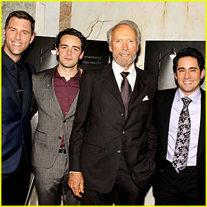 Clint Eastwood & 'Jersey Boys' Cast Look Handsome at NYC Screening!