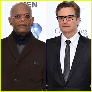 Samuel L. Jackson & Colin Firth are Dapper Dudes at the Charity Ball!