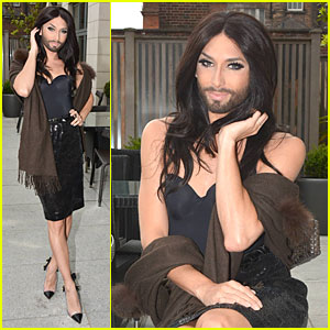 Conchita Wurst Believes It Is a Human Right To Love Whoever You Want!
