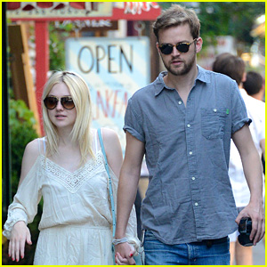 Dakota Fanning & Boyfriend Jamie Strachan Grab Lunch After Summer Solstice Soiree