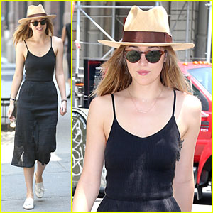 Dakota Johnson Isn't Prepping For 'Fifty Shades of Grey' Media Frenzy!