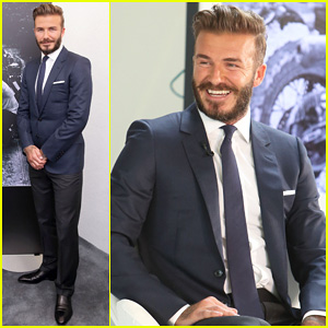 David Beckham Attends Photo Call for his Documentary 'Into The Unknown' - Watch Trailer Now!