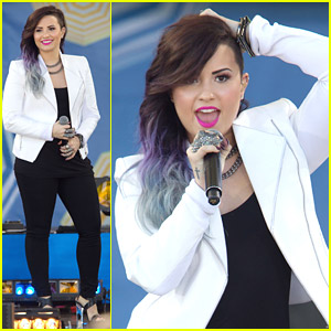 Demi Lovato Debuts 'Nightingale' During 'GMA' Concert Series