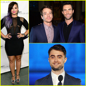 Demi Lovato Joins Adam Levine & Daniel Radcliffe to Honor LGBT Pioneers at Logo TV's Trailblazers!