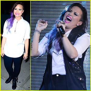 Demi Lovato Performs at NYC Gay Pride - See the Photos!
