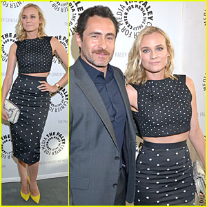 Diane Kruger Bares Midriff For 'Bridge' Season 2 Premiere!