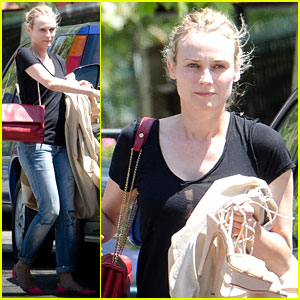 Diane Kruger Doesn't Handle Guns Gracefully on 'Bridge' Set