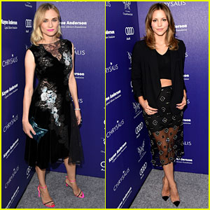 Diane Kruger & Katharine McPhee Break Out Their Beauty for Chrysalis Butterfly Ball 2014