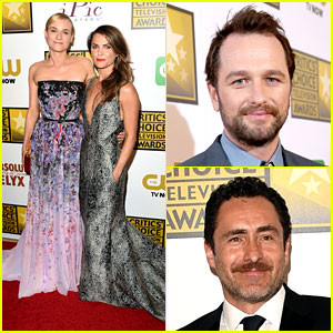 Diane Kruger & Keri Russell Go Super Glam for Critics' Choice TV Awards 2014!