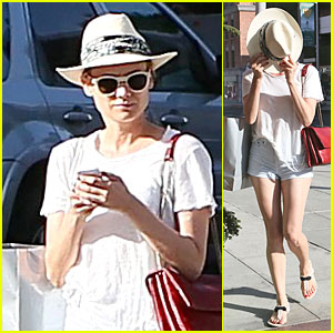 Diane Kruger Hides Her Pretty Face Behind a Hat in Beverly Hills!