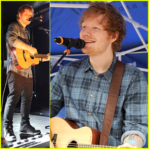Ed Sheeran Conquers The Big Apple on Multiply Day
