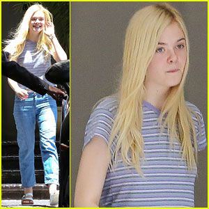 Elle Fanning's Stylist Describes Her Red Carpet Style as 'Daring & Unique'