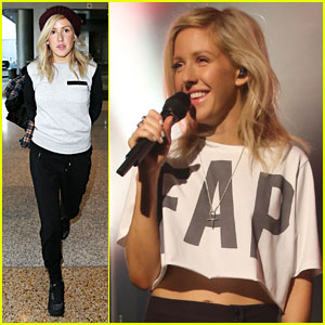 Ellie Goulding Breaks Out Her Beatboxing Skills in Sydney! (Video)
