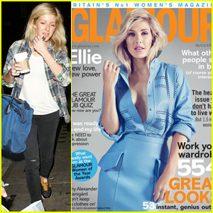 Ellie Goulding Shows Some Cleavage for 'Glamour UK' Cover!