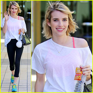 Emma Roberts is Already on to the Next Book on Her Summer Reading List!
