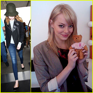 Emma Stone & More Celebs Help Knock Out Breast Cancer