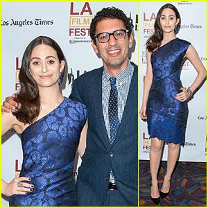 Emmy Rossum Brings 'Comet' to Los Angeles Film Festival!