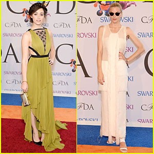 Emmy Rossum & Jaime King Stun in Gowns at CFDA Fashion Awards 2014