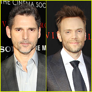 Eric Bana & Joel McHale 'Deliver Us From Evil' in NYC!