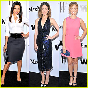Eva Longoria Helps Honor Rose Byrne at MaxMara Cocktail Party!