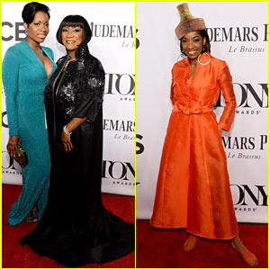 Fantasia Barrino & Patti LaBelle Join 'After Midnight' Cast at Tony Awards 2014!